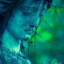Blue Green Angel by Sonja Quintero