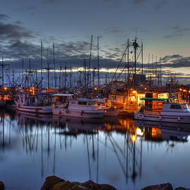 Blue Hour by Randy Hall