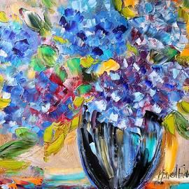 Karen Tarlton - Blue Hydrangeas