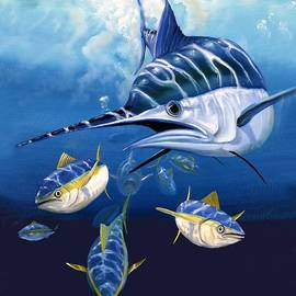 Blue Marlin by Michael Alexander