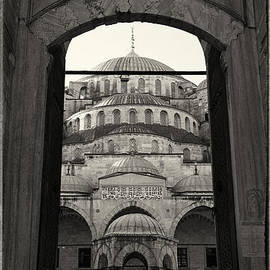 Blue Mosque Entrance by Stephen Stookey