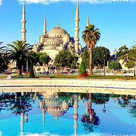 Blue Mosque Fountain by Stephen Stookey