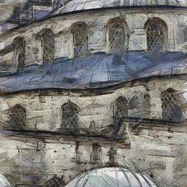 Antony McAulay - Blue Mosque sketch