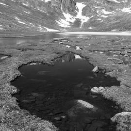 Blue Mountain Lake, Colorado by Ian Mcadie