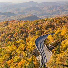 Blue Ridge Parkway In Autumn by Pierre Leclerc Photography