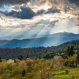 Dave Allen - Blue Ridge Parkway North Carolina Mountains Gods Country