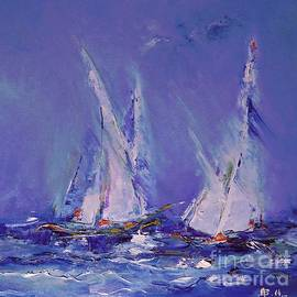 AmaS Art - Blue Sailing