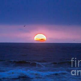 Blue Sunset by Robert Bales