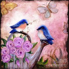 Marilyn Smith - Bluebirds And Butterflies
