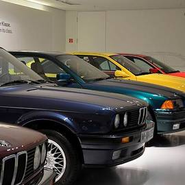 Imran Ahmed - BMW cars through the years Munich Germany