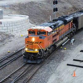 Bnsf Kc Rail Yards by The GYPSY