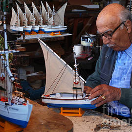 Bob Christopher - Boat Builder of Mykonos