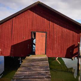 Boat house ruined by the ice. Houtskari by Jouko Lehto