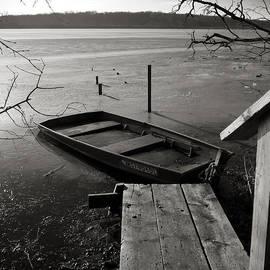 Steven Ralser - Boat in Ice - Lake Wingra - Madison - WI