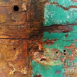 Newel Hunter - Boatyard Abstract 6