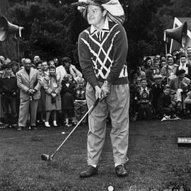 Bob Hope at Bing Crosby National Pro-Am Golf Championship  Pebble Beach circa 1955 by California Views Archives Mr Pat Hathaway Archives