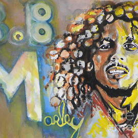 Bob Marley 03 by Chrisann Ellis