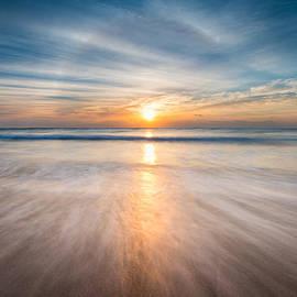 Boca Raton FL Beach - Sun Dog Sunrise by Dave Allen