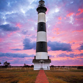 Dave Allen - Bodie Island Lighthouse Sunrise OBX Outer Banks NC - The Gatekeeper