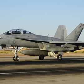 Brian Lockett - Boeing FA-18F Super Hornet BuNo 166659 Landing 3 NAF el Centro October 24 2012