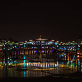 Bogdan Khmelnitsky Bridge over the Moscow River - Featured 3 by Alexander Senin