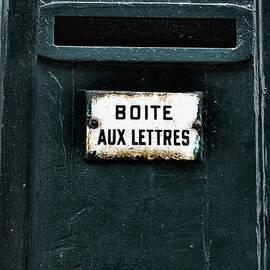 Boite Aux Lettres by Georgia Fowler