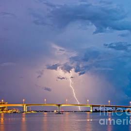 Bolt over Bridge by Stephen Whalen