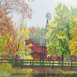 David Wolfer - Bonneyville Mill in Goshen Indiana