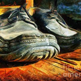 Daliana Pacuraru - Boogie Shoes - Walking story - Drawing
