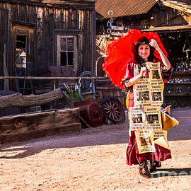 Bob and Nadine Johnston - Bordello Girl Goldfield Arizona