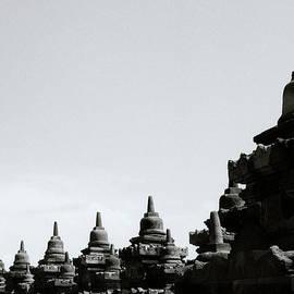 Borobudur Symmetry by Shaun Higson