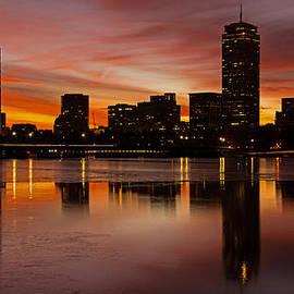 Boston Dawn by Ken Stampfer