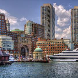 Boston Harbor and the Odyssey by Joann Vitali