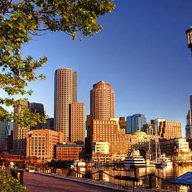 Joann Vitali - Boston Harbor Sunrise