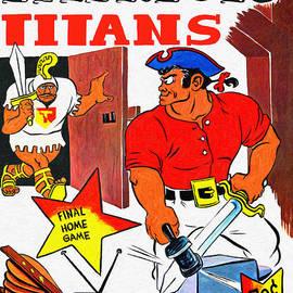 Boston Patriots 1962 Program by John Farr