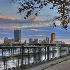 Boston Skyline on the Charles River by Joann Vitali
