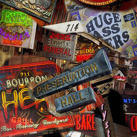 Bourbon Street Compilation NOLA DSC05963 by Greg Kluempers