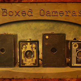 Boxed Cameras by John Anderson