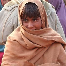 Kim Bemis - Boy In Shawl - Kumbhla Mela - Allahabad India 2013