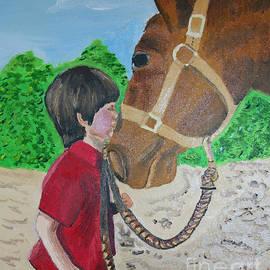 Shan Gillard - Boy With Horse