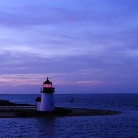Marianne Campolongo - Brant Point Lighthouse at Night