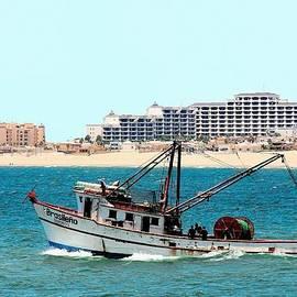 Brasilieno Mexican Fishing Boat 2 by Nicholas Romano