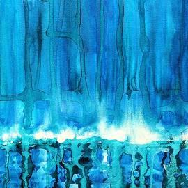 Sol Luckman - Breakers off Point Reyes original painting