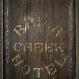 John Stephens - Briar Creek Hotel Sign