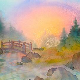 Bridge at Sunset by Teresa Ascone