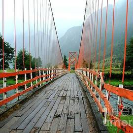 Tap On Photo - Bridge Crossing - Chilean Landscape