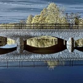 Bridge in the Forest Park by Igor Aleynikov