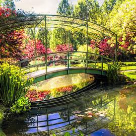 Bridge in the Garden by Debra and Dave Vanderlaan