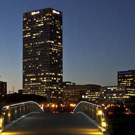 Deborah Klubertanz - Bridge into Milwaukee