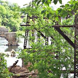 Bridge Remnants by Gordon Elwell